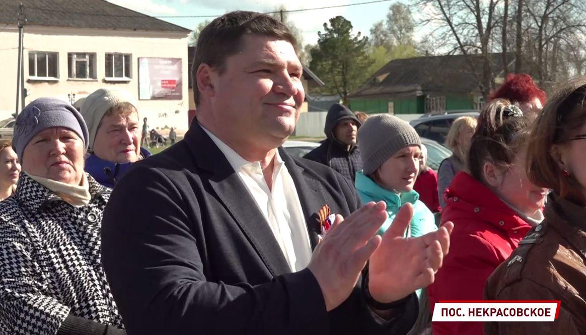 Мобильная приемная депутата Андрея Коваленко работала в Некрасовском: жители рассказали об основных проблемах