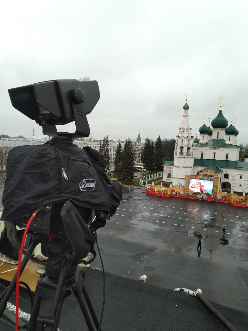 «Первый Ярославский» проведет трансляцию Парада Победы с Советской площади