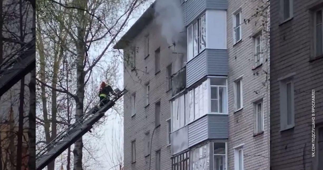 Пожар в многоквартирном доме напугал жителей Суздалки