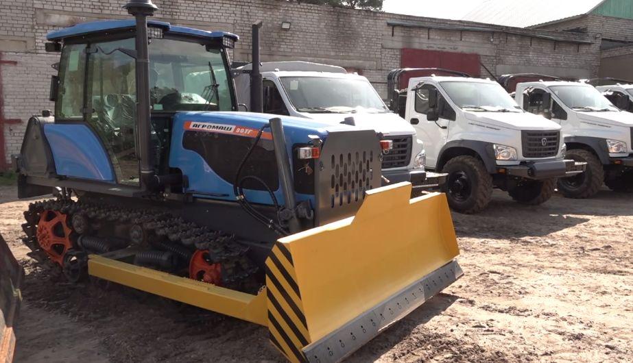 Беспилотники, квадроциклы и грузовики: в Ярославскую области привезли новую технику для восстановления лесов
