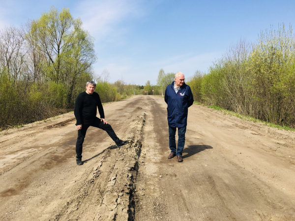 Недостатки на дороге Карабиха – Введенье устранят в течение месяца по гарантии