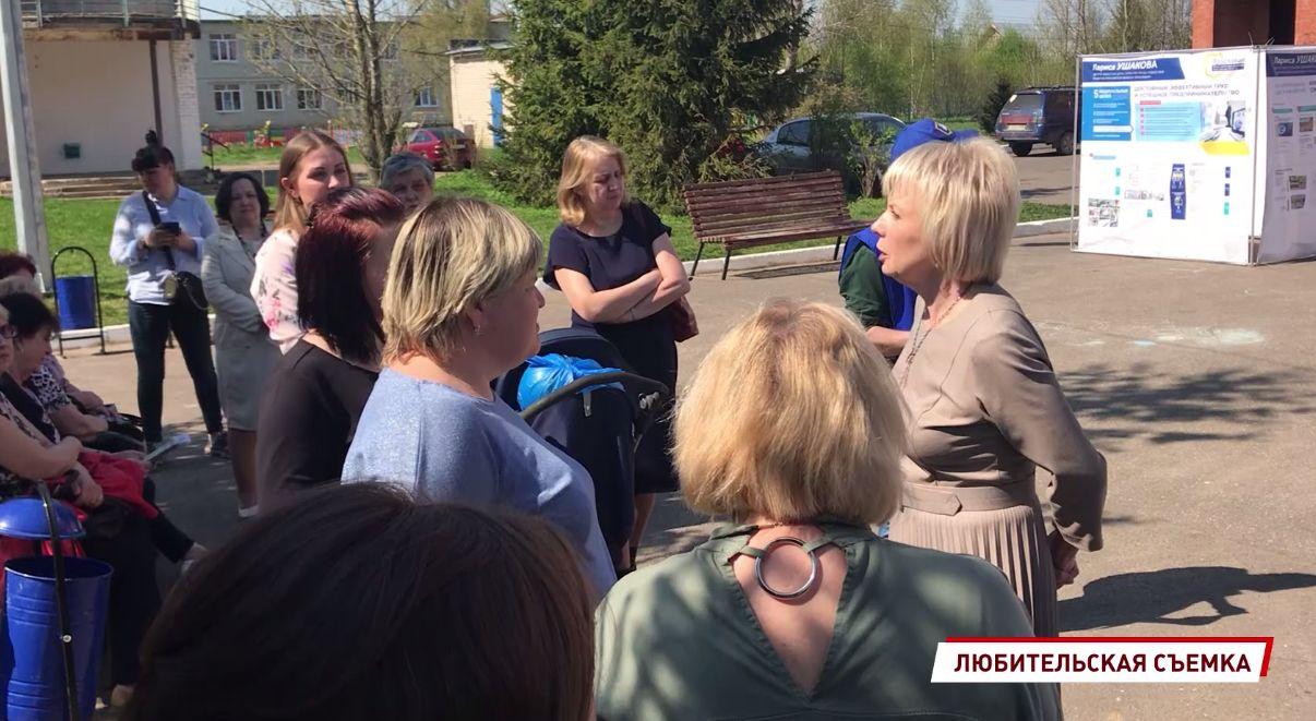 Депутат Лариса Ушакова взяла на контроль решение вопроса транспортной доступности в поселке Ермаково