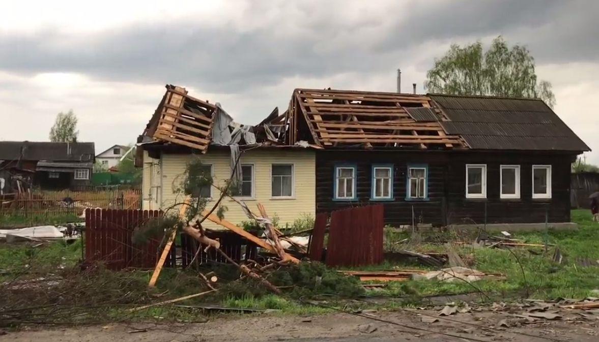 Власти Любима подсчитывают ущерб от последствий стихии: в городе ввели режим ЧС