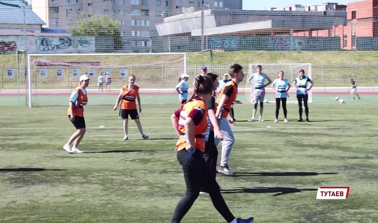 В Ярославской области прошел турнир по тэг-регби