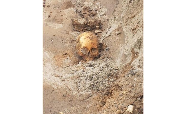 На Волжской набережной в центре Ярославля нашли человеческий скелет