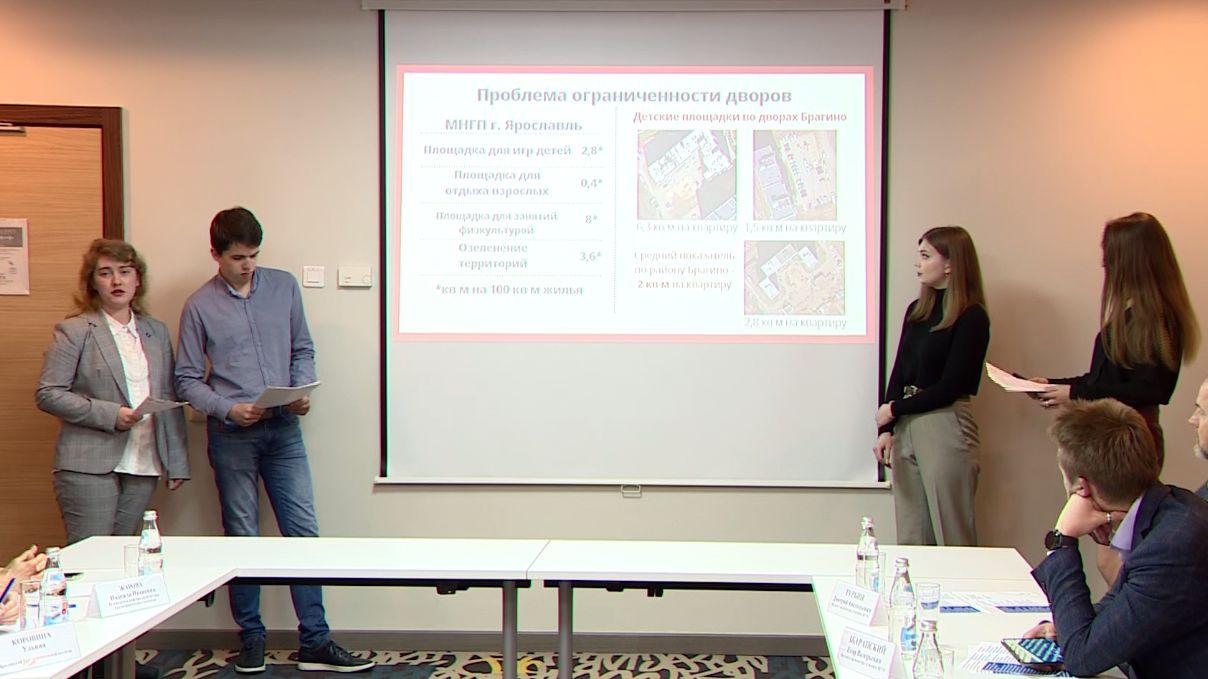 Новый сквер и спортплощадки: студенты строительных вузов представили концепцию застройки Брагино