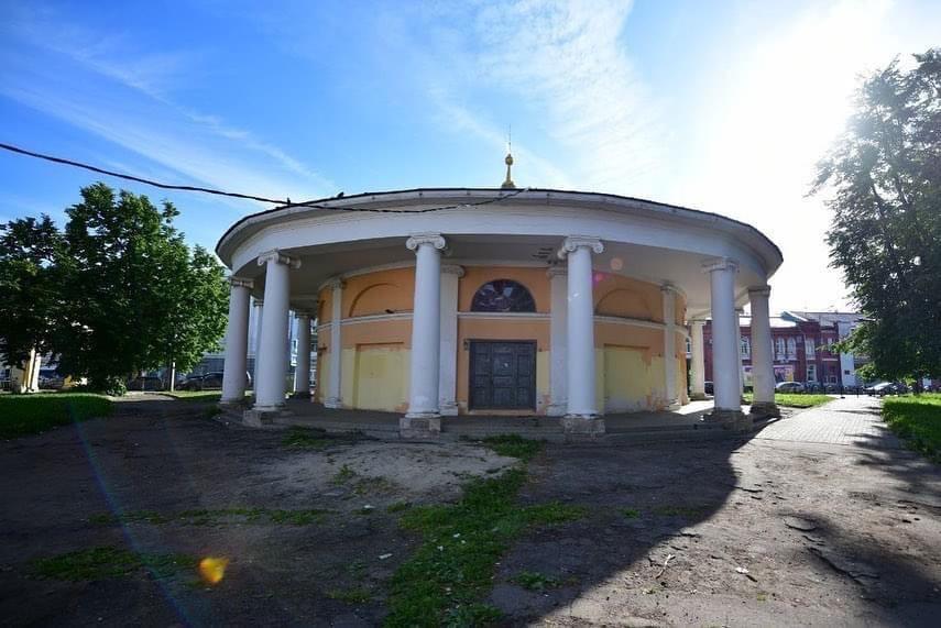 Мэр пообещал благоустроить сквер у Ротонды в центре Ярославля