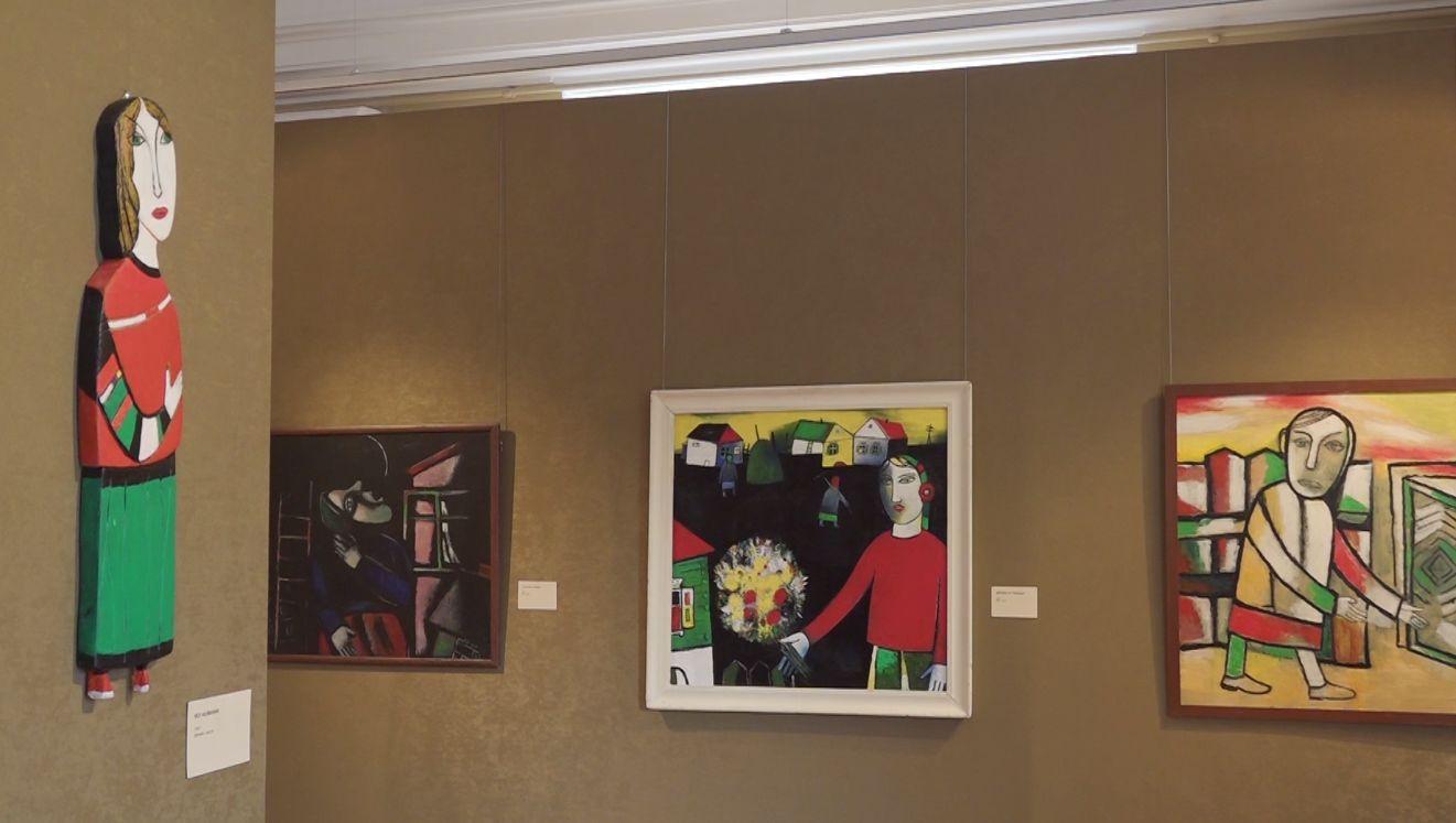 В Ярославском художественном музее представили работы Алексея Новикова