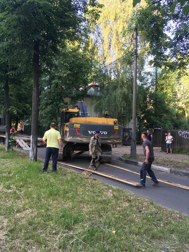 В центре Ярославля удалось остановить снос Актерского квартала