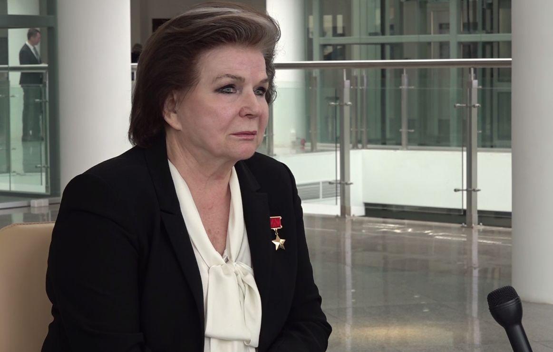 Валентина Терешкова: я пообещала отстаивать интересы родной земли