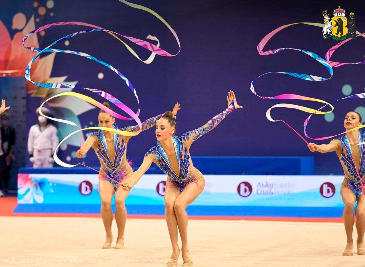 Ярославна стала двукратной чемпионкой Европы по художественной гимнастике