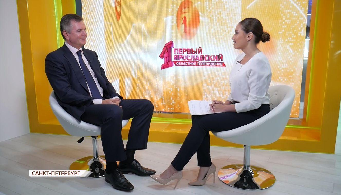 Вадим Гуринов – о проектах, которые будут реализованы на ярославском Шинном заводе