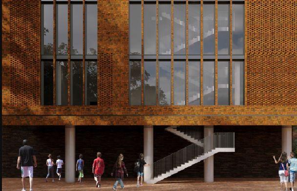 Мэр Ярославля показал, как будет выглядеть новая школа в Красноперекопском районе