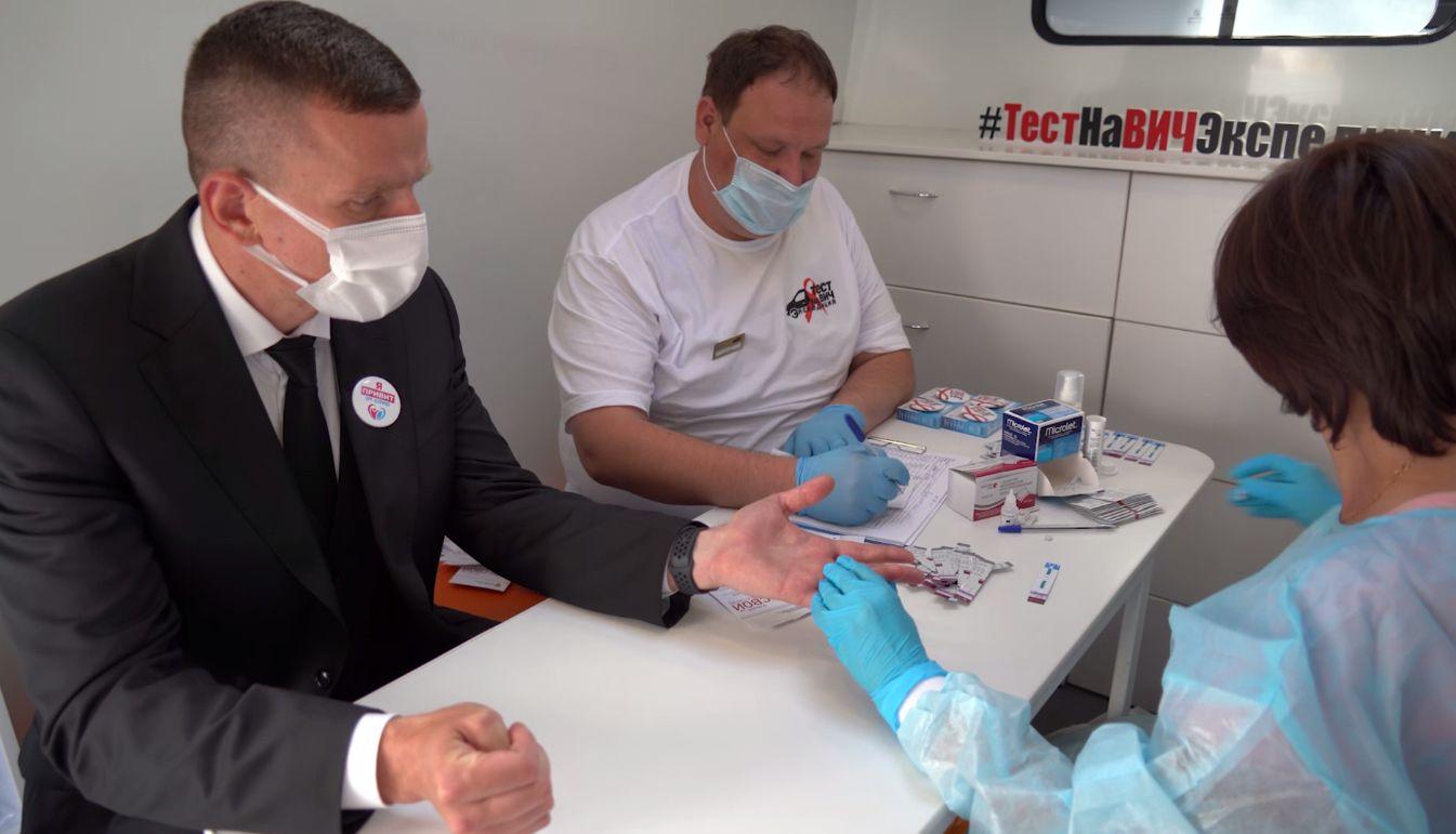 Ярославцы могли узнать свой ВИЧ-статус прямо в центре города