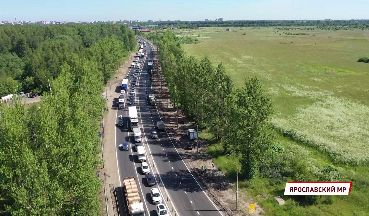В Ярославле отремонтировали пятикилометровый участок окружной дороги