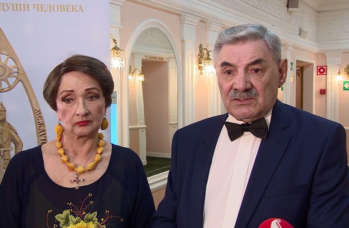 Панкратов-Черный, Скляр, Голубкина и другие звезды выступили на сцене Волковского театра