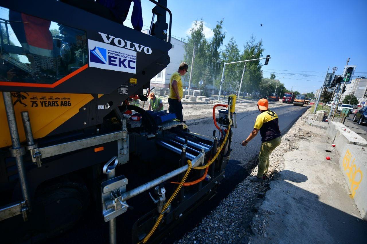 Мэр Ярославля: движение по ремонтируемому участку проспекта Машиностроителей откроют на этой неделе
