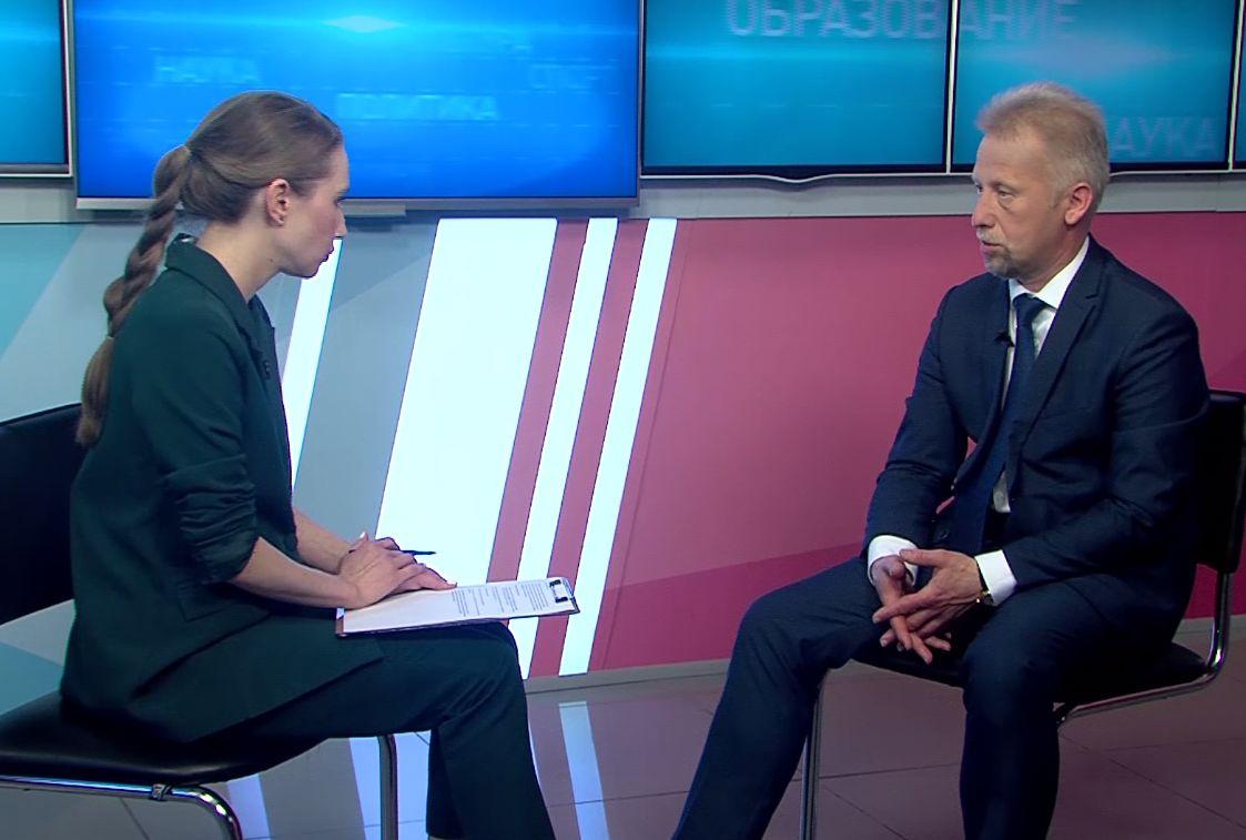 «В тему»: Александр Гудков - о приёмной кампании в учреждения среднего профессионального образования