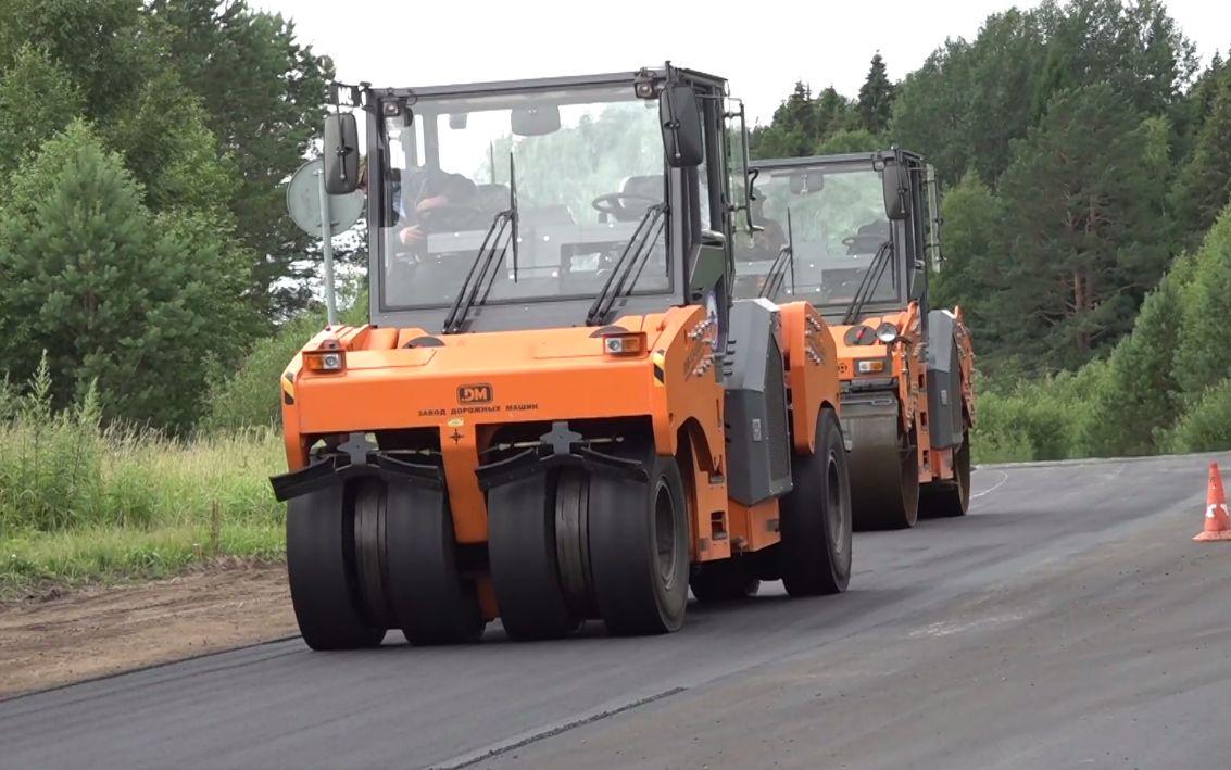 В Ярославской области отремонтировали дорогу рядом с крупным сельхозпредприятием
