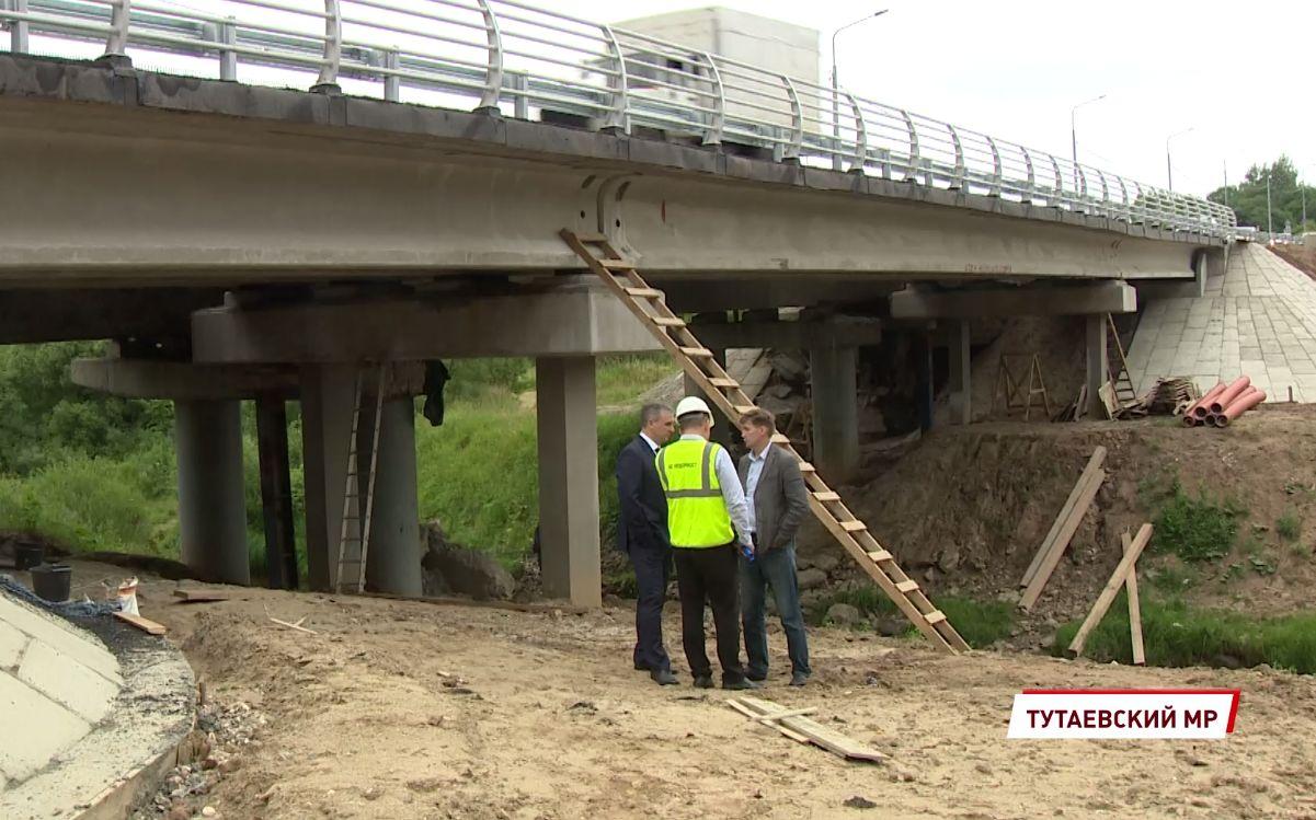 Марфину Гору и мост через Печегду на трассе Ярославль-Рыбинск сделают более безопасными