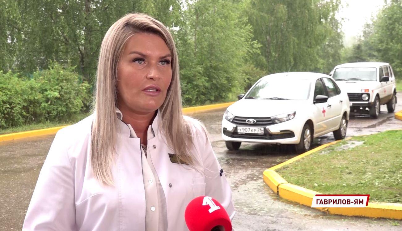 Больница в Ярославской области получила новые автомобили для доставки врачей больным прямо на дом