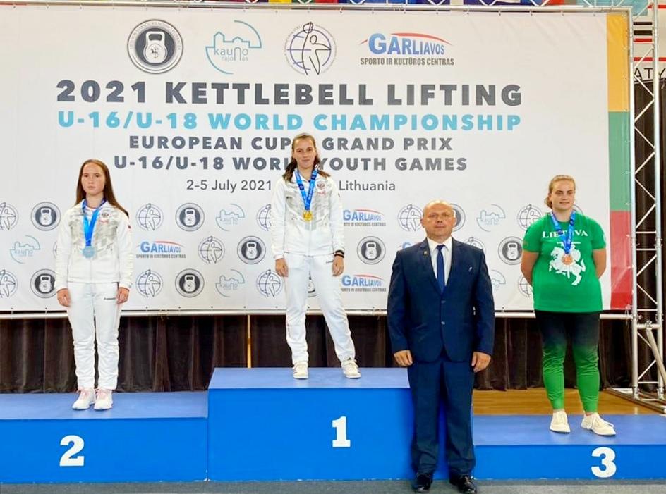 Представители Ярославской области выиграли первенство мира по гиревому спорту