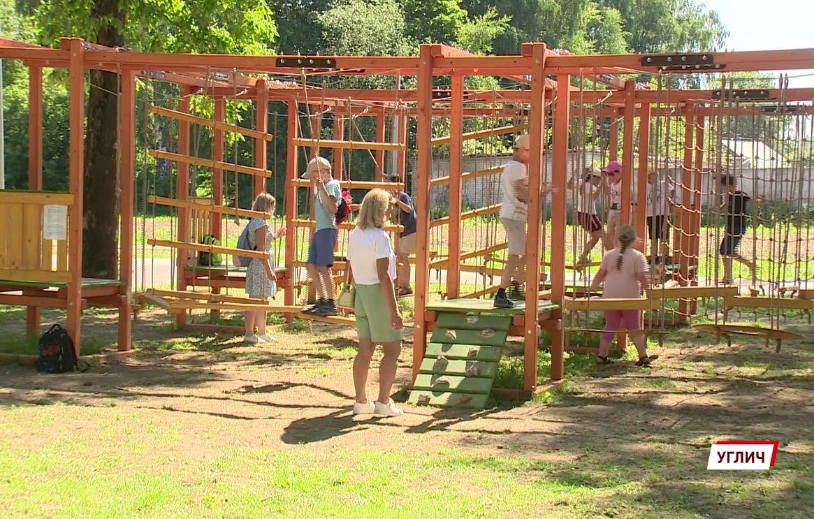 В Угличе преобразился Парк детства: как благоустроили зону отдыха