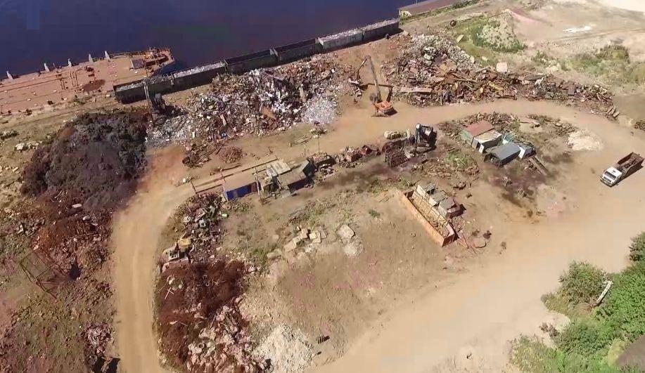 Ярославцы забили тревогу в связи со складированием черного металла на берегу Волги