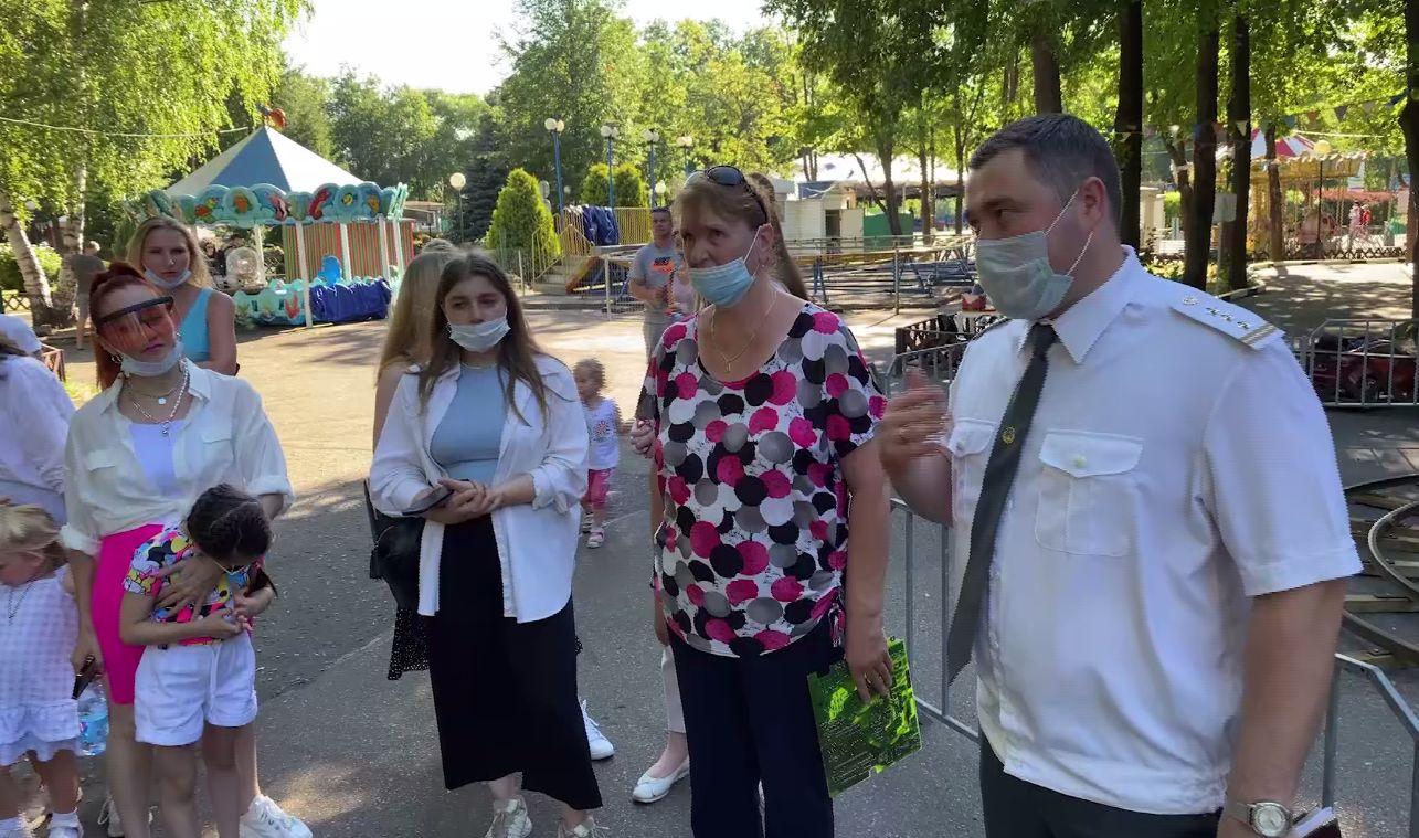 В Ярославле блогерам рассказали, как избежать трагедий в парках аттракционов
