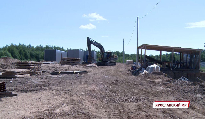В Красных Ткачах завершается строительство водоочистной станции