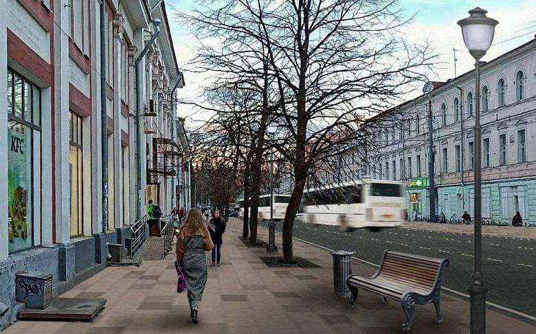 В центре Ярославля перекроют полосы на улице Комсомольской