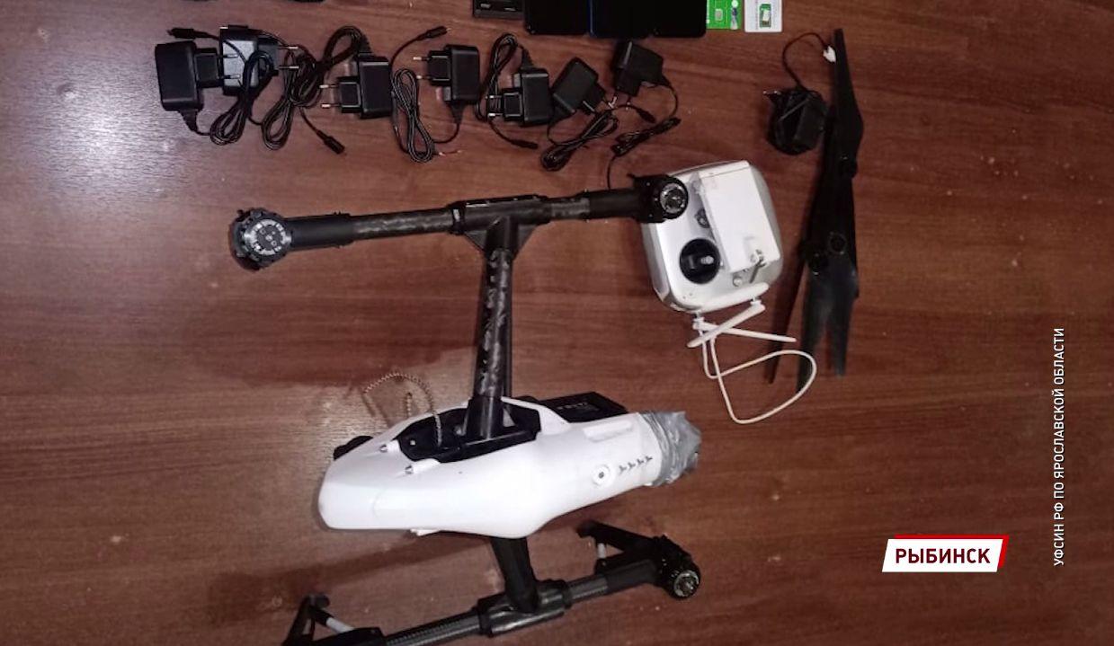 Житель Ярославской области пытался доставить запрещенные предметы в колонию с помощью дрона