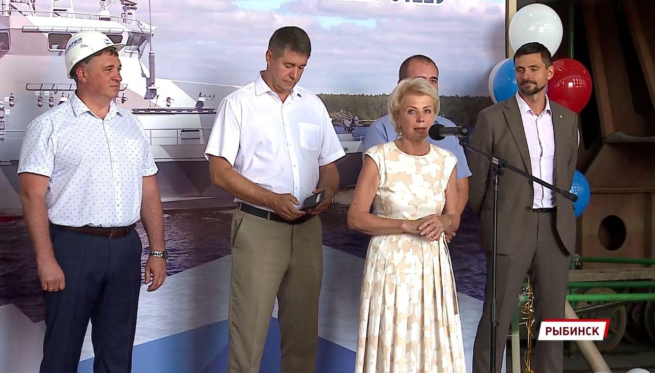 На судостроительном заводе в Рыбинске заложили катер для нужд Минобороны