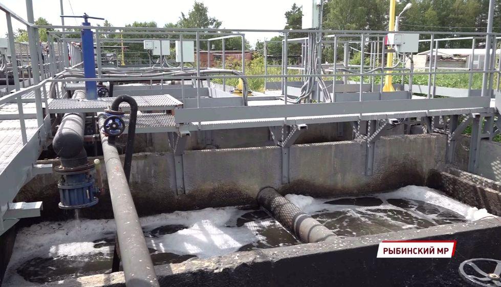 Под Рыбинском проверили ход пусконаладочных работ на системе очистных сооружений