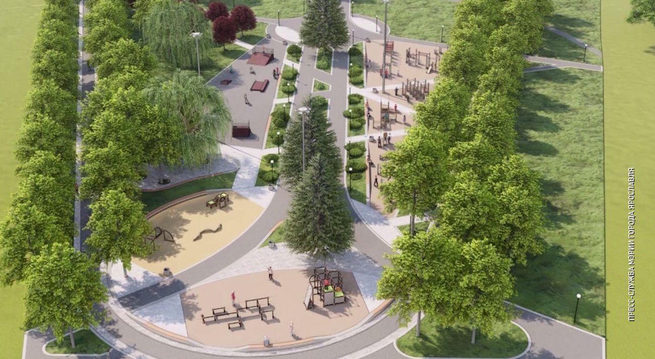 В Ярославле вскоре начнется благоустройство Юбилейного парка и Тверицкой набережной