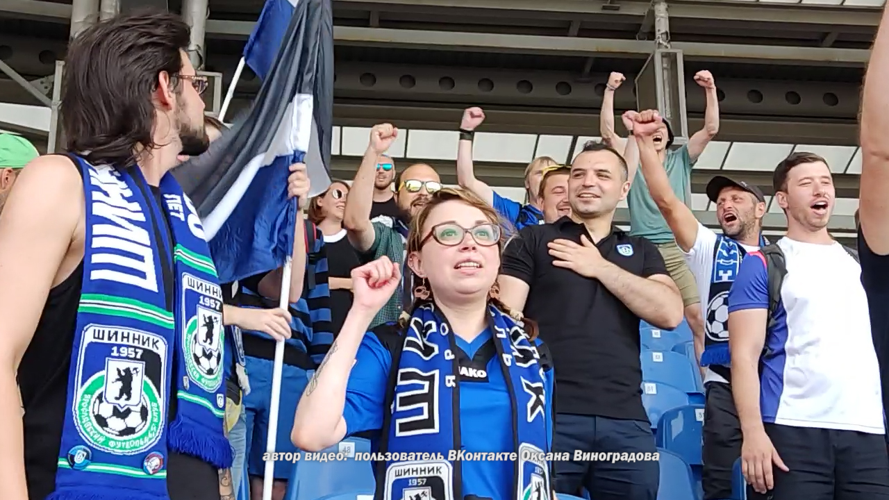 В Ярославле футбольные болельщики поддержали возвращение трансляций «Шинника» на телеэкраны