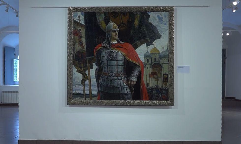В Ярославле открылась выставка, посвященная 800-летию Александра Невского