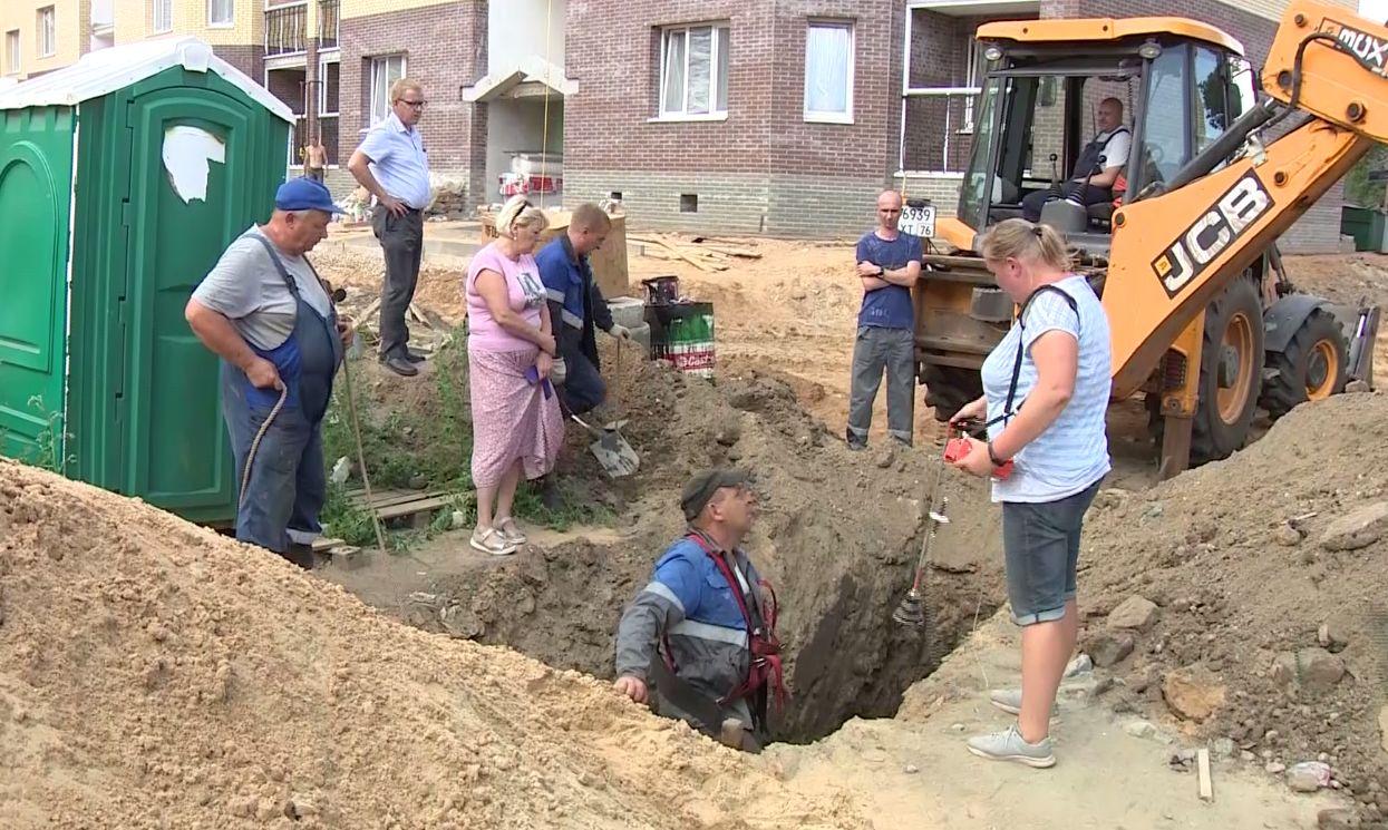 В дома на улице 2-й Мельничной в Ярославле начали возвращать газ