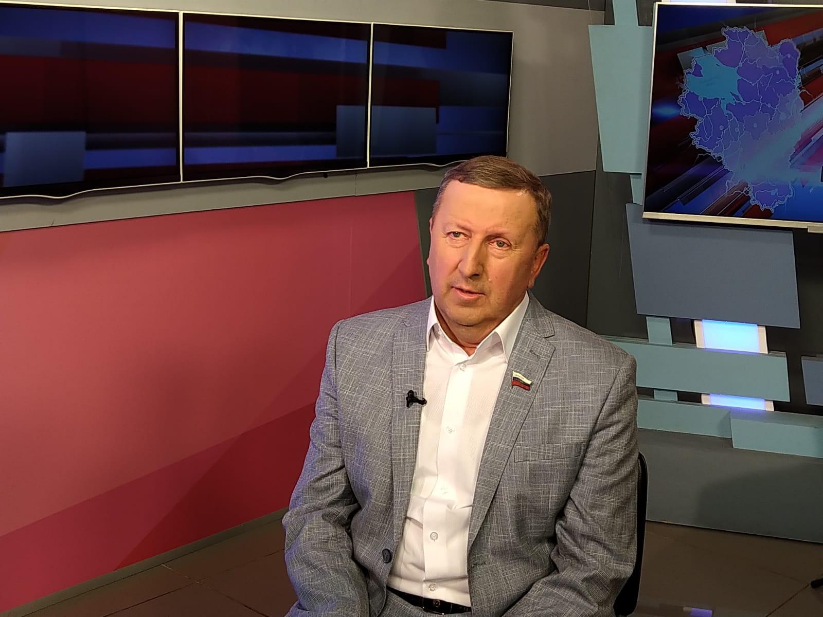 Сенатор от Ярославской области Сергей Березкин подвёл итоги весенней сессии в студии «Первого Ярославского»