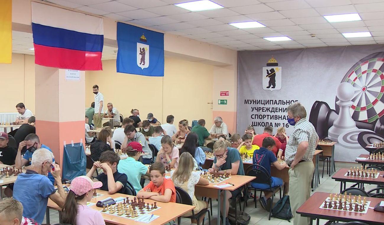 Спортсмены из разных регионов приехали в Ярославль на всероссийские соревнования по шахматам