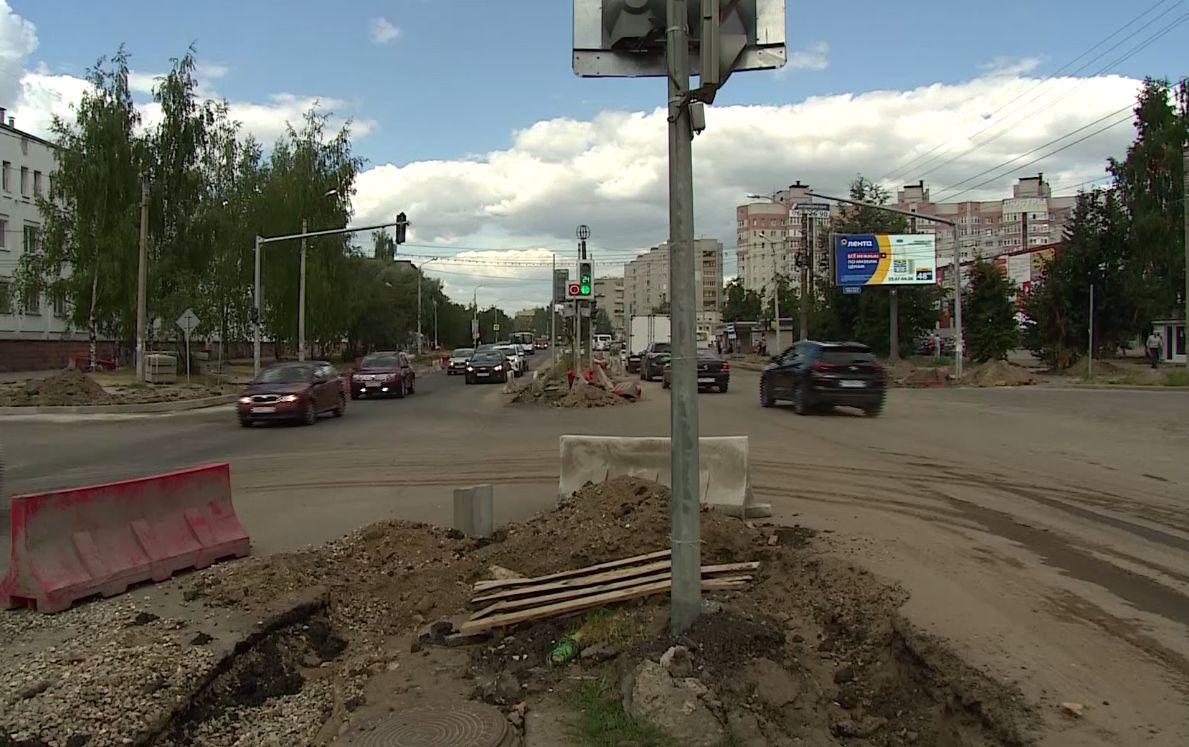Ремонт проспекта Машиностроителей в Ярославле затянется почти на месяц