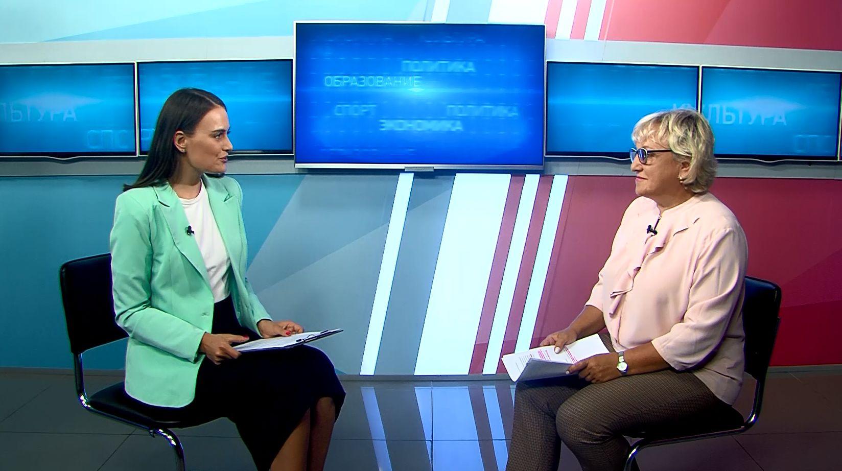 Программа «В тему»: Светлана Астафьева - о подготовке учебных заведений к новому учебному году