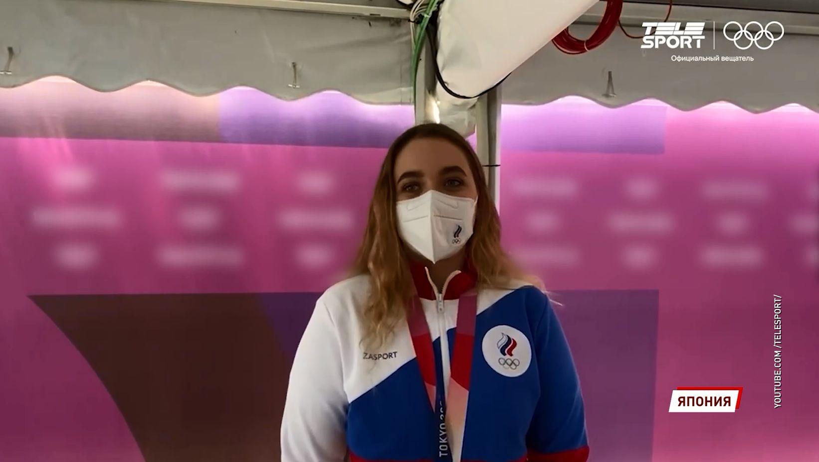 Ярославна Анастасия Галашина взяла «серебро» на Олимпийских играх в Токио