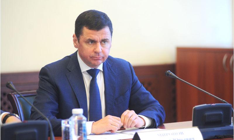 Дмитрий Миронов занял первое место в рейтинге репутации губернаторов