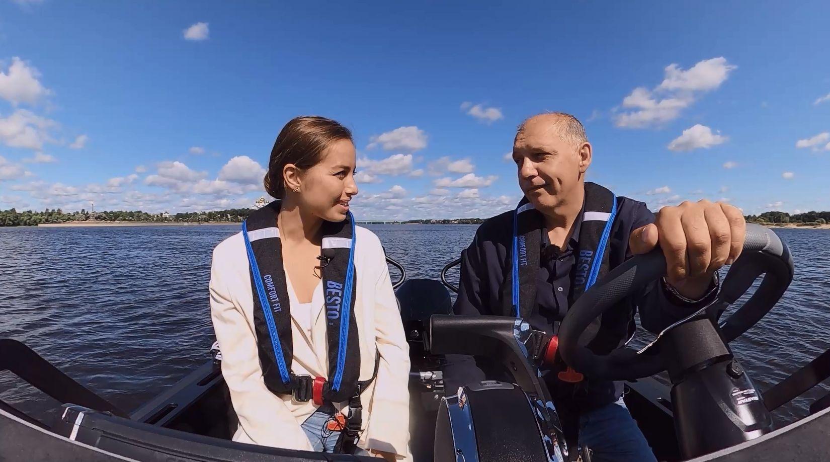 Эксклюзивное интервью Александры Панкратовой с Андреем Шепеляевым: о производстве нового катера в Ярославской области