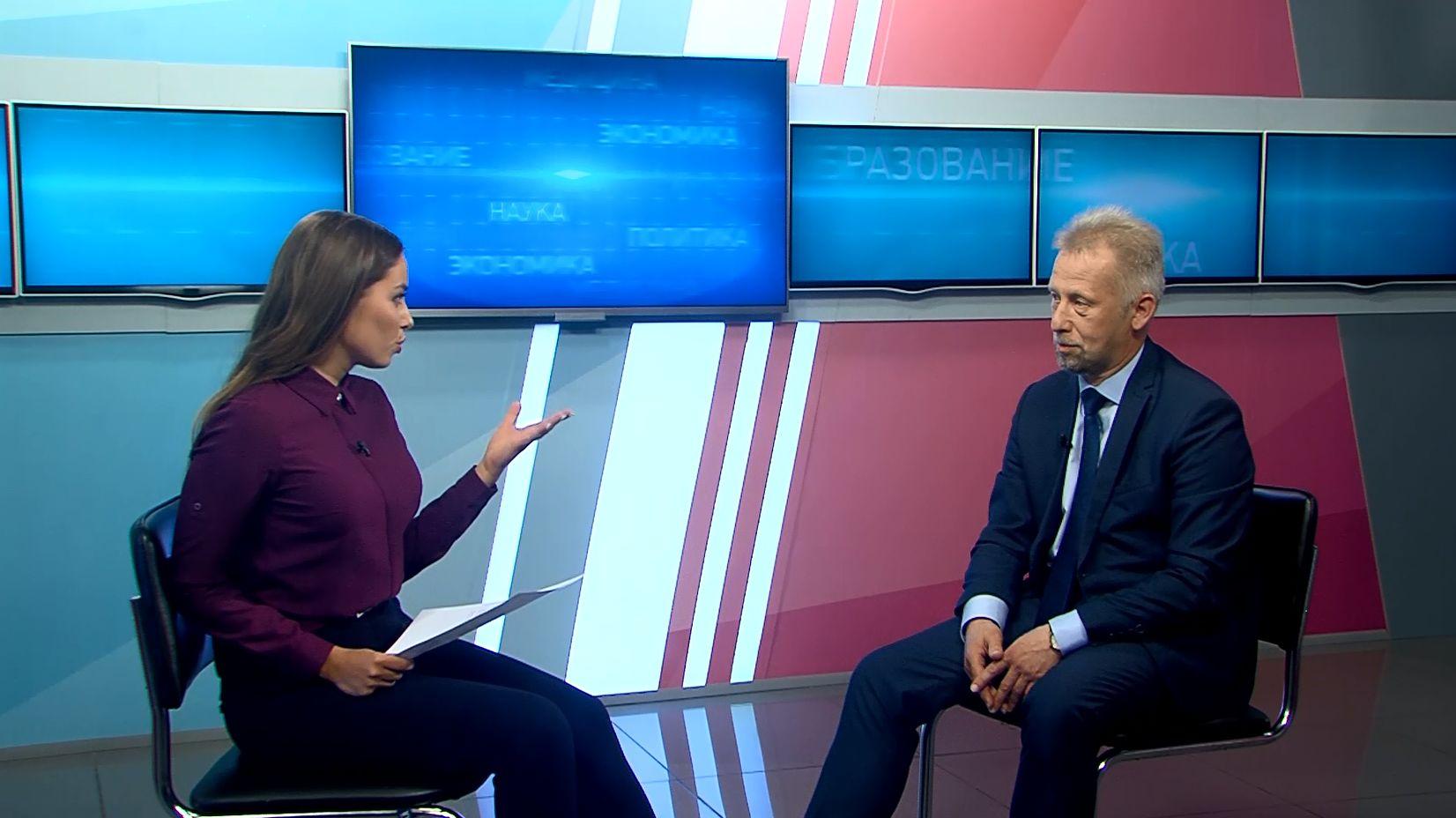 Программа «В тему»: Александр Гудков - о приёмной кампании 2021