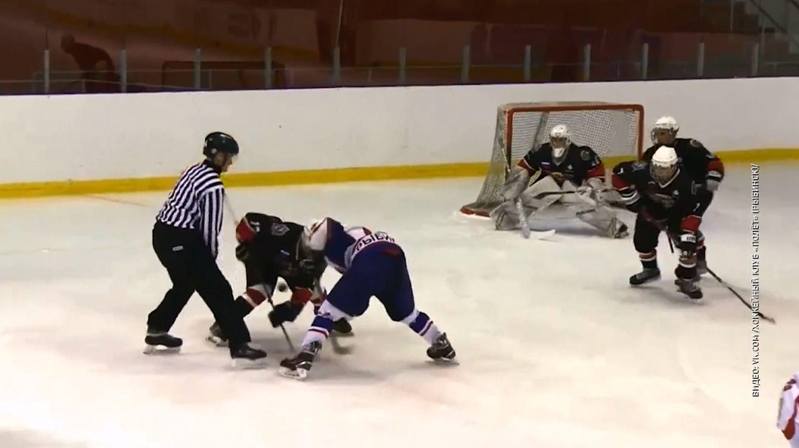 Рыбинские хоккеисты начали подготовку к сезону с Кубка главы города