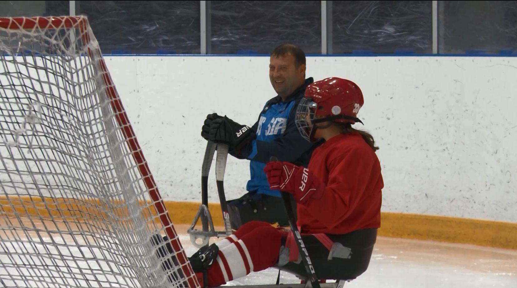 Призёр чемпионата мира Сергей Панфилов тренирует ярославскую команду по следж-хоккею