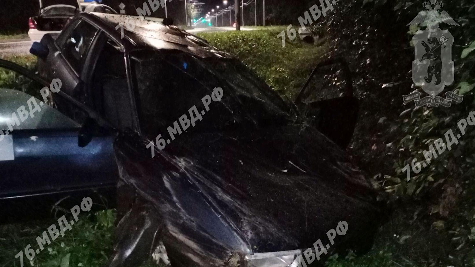 Серьезное дорожное происшествие на Тутаевском шоссе в Ярославле