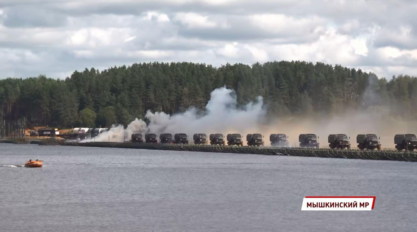 Масштабные военные учения прошли в Ярославской области
